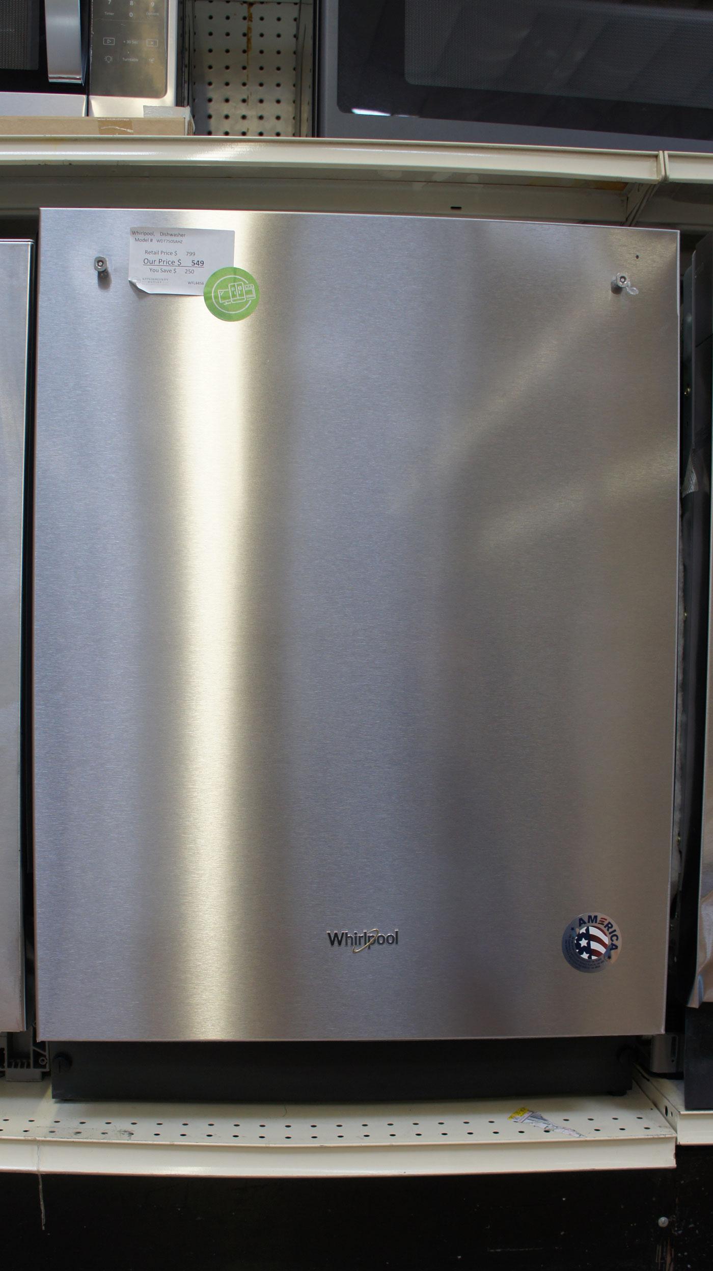 """24"""" Whirlpool WDT750SAHZ Dishwasher"""