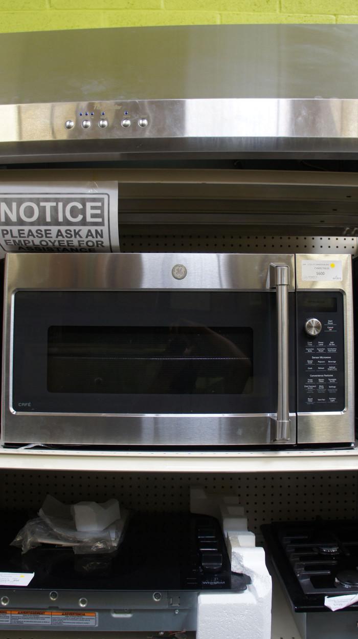 """30"""" GE Cafe CVM9179SLSS Microwave Oven"""