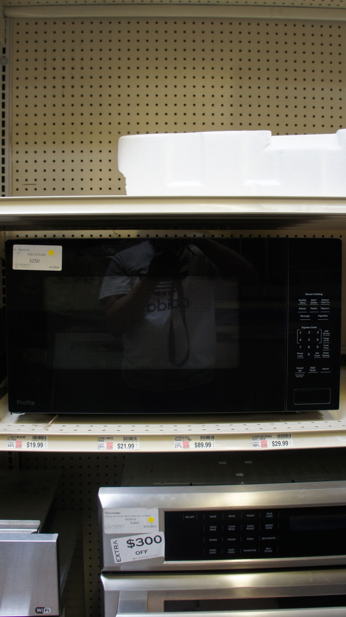 2.2 cu.ft. GE Profile PEB7227DLBB Built-In Microwave Oven