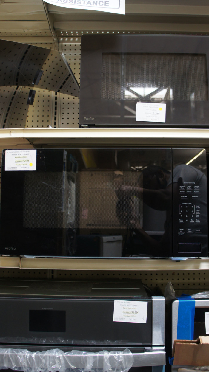 2.2 cu.ft. GE Profile PEB7227ANDD Built-In Microwave Oven