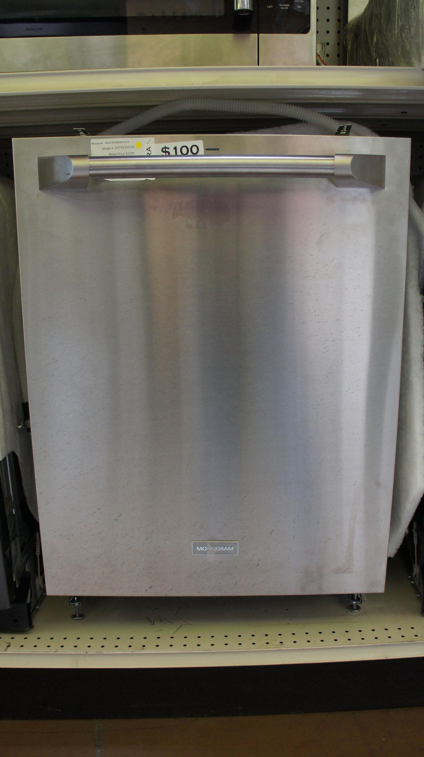 """24"""" Monogram ZDT915SPJSS Dishwasher"""