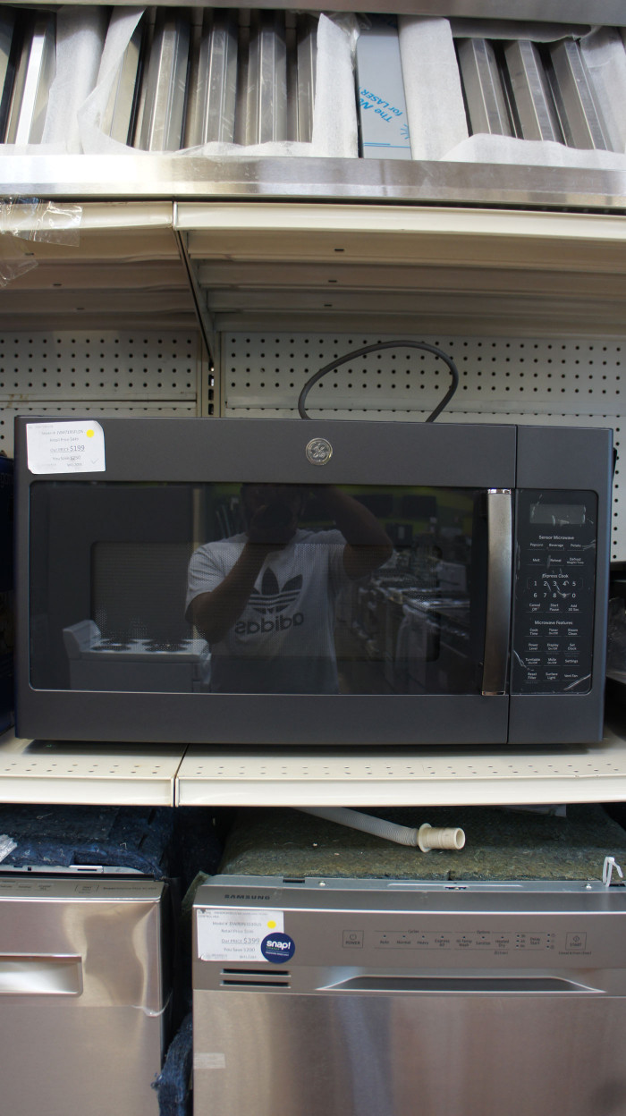1.9 cu.ft. GE JVM7195FLDS Over-The-Range Microwave Oven