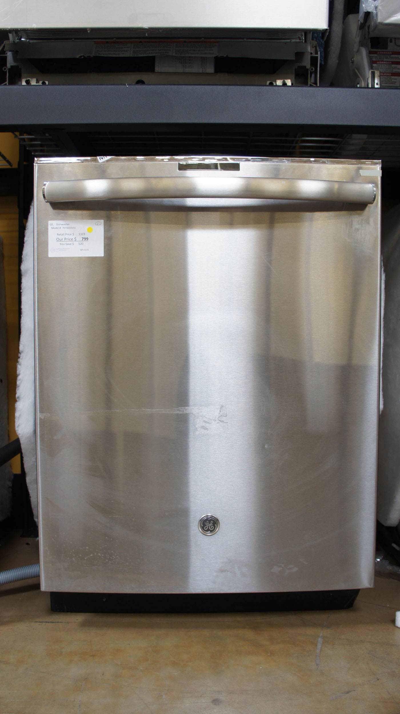 "24"" GE PDT845SSJSS Dishwasher"