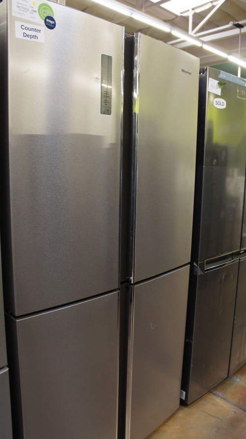 Hisense 4-Door French Door Refrigerator