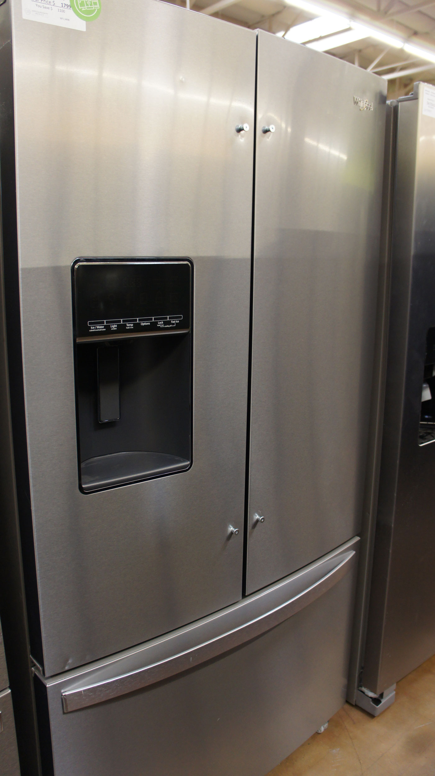 "36"" Whirlpool WRF767SDHZ 26.8 cu.ft. French Door Refrigerator"