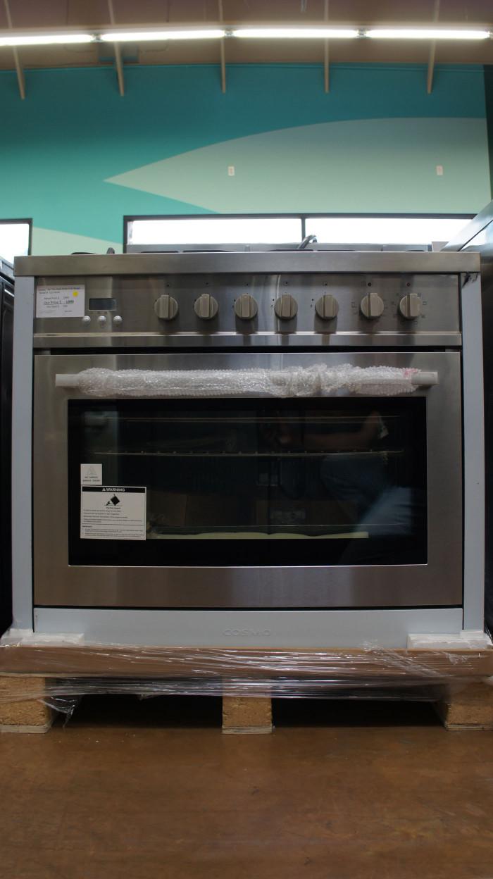 "36"" COSMO COS-F965NF Freestanding Dual Fuel Range Oven"