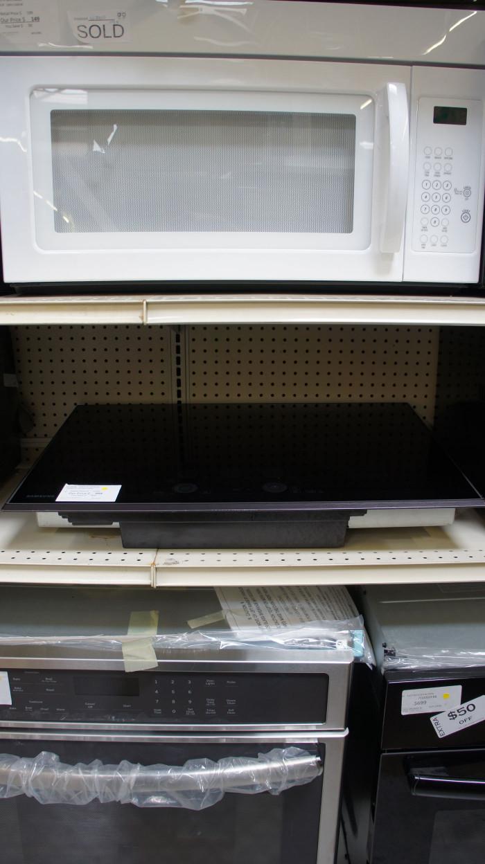 "30"" Samsung NZ30K7570RG 5 Heating Element Electric Cooktop"
