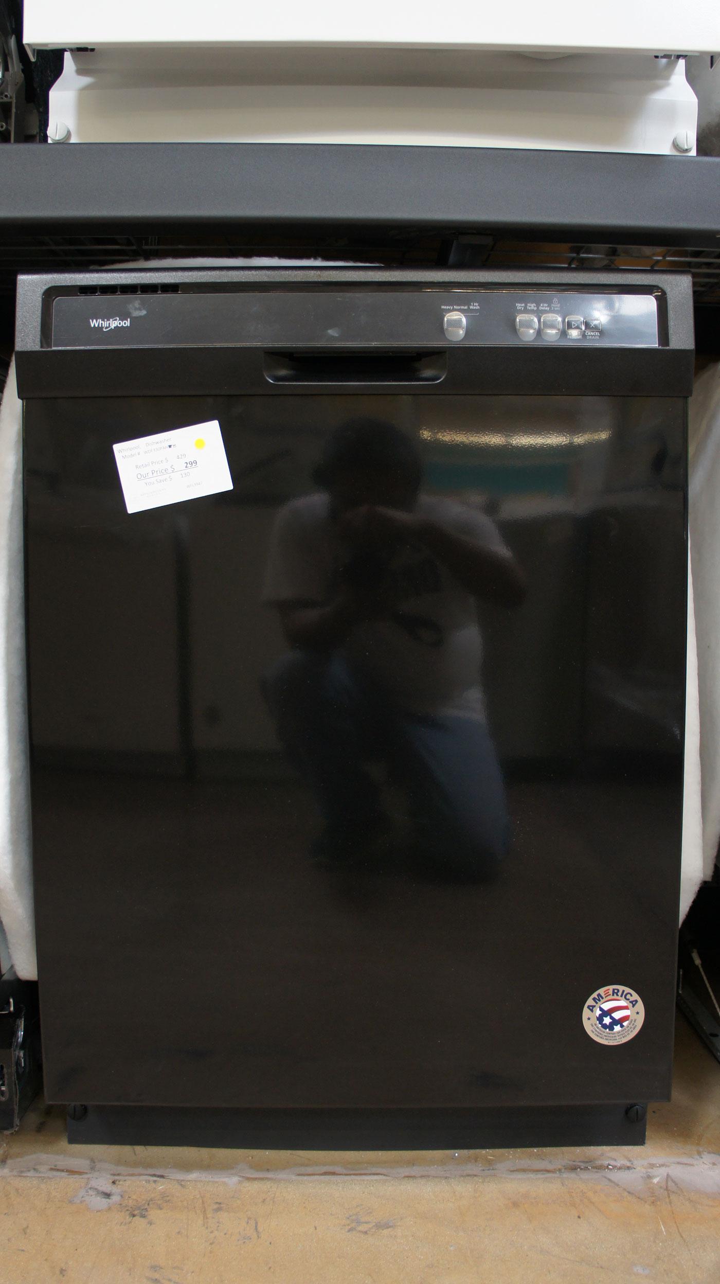 "24"" Whirlpool WDF330PAHB Dishwasher"
