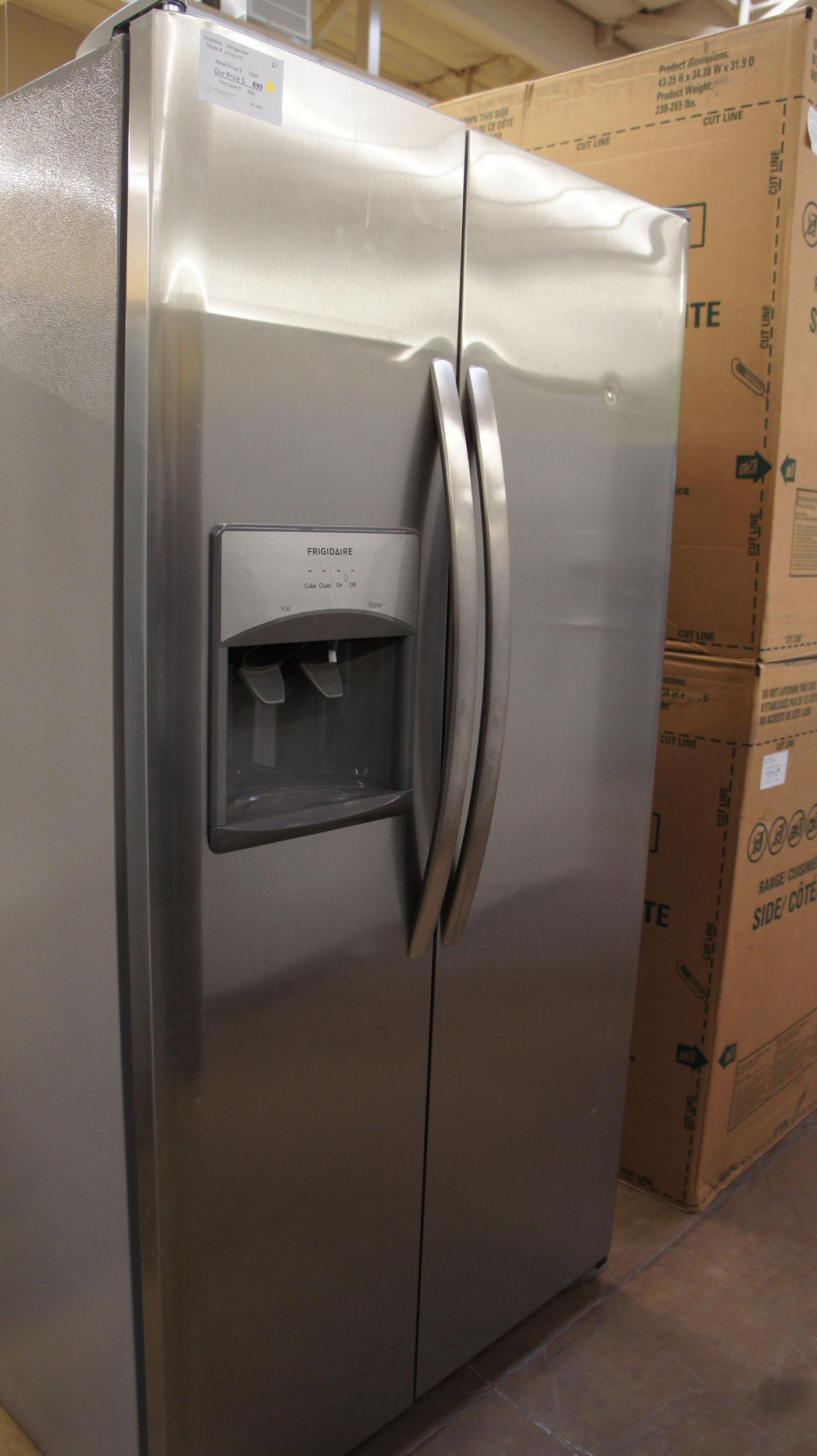 Frigidaire LFSS2612TF Side-By-Side Refrigerator