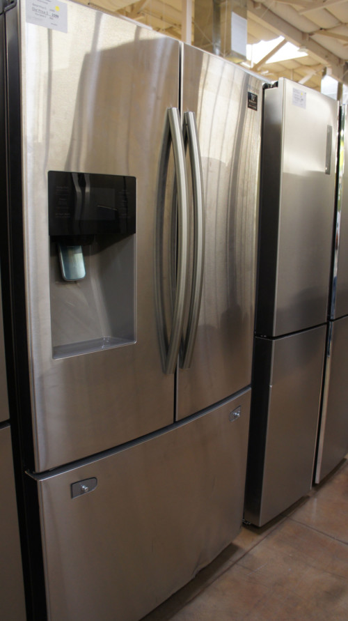 "36"" Samsung RF263TEAESG 24.6 cu.ft. French Door Refrigerator"