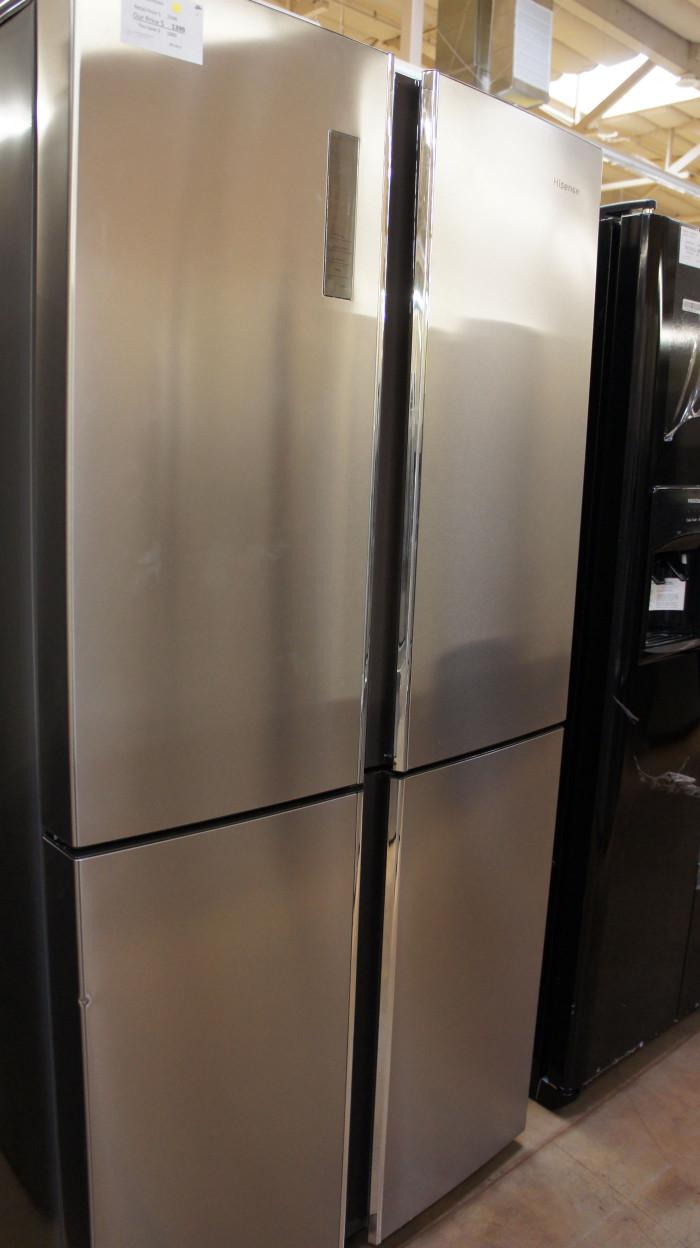Hisense 4-Door French Door Refrigerator