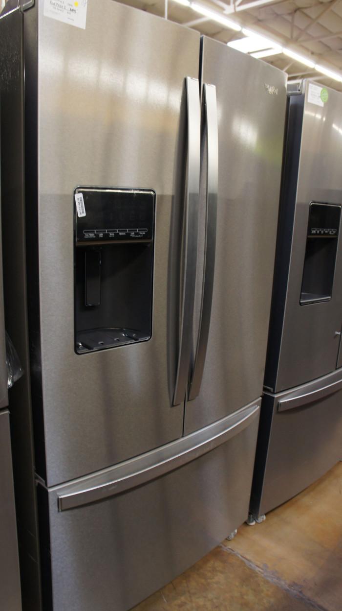 "36"" Whirlpool WRF767SDHZ 26.8 cu.ft. French Door Refrigerator"
