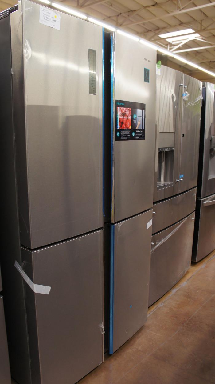 """36"""" Hisense 4-Door French Door Refrigerator"""
