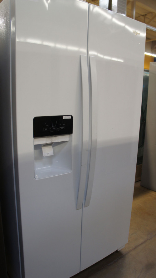 "36"" Whirlpool WRS325SDHW 24.6 cu.ft. Side-by-Side Refrigerator"