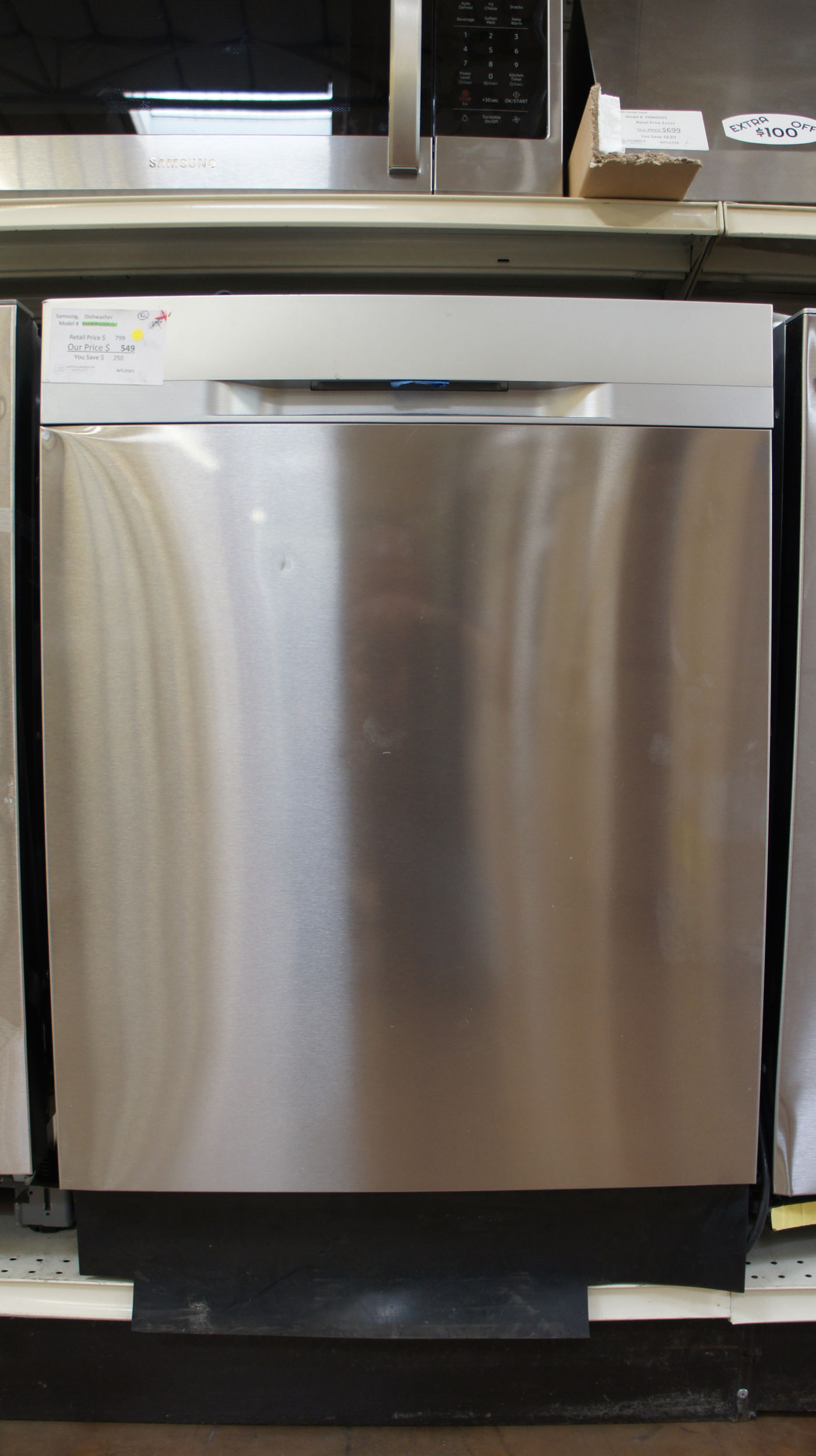 """Samsung DW80R5060US 24"""" Fully Integrated Dishwasher"""