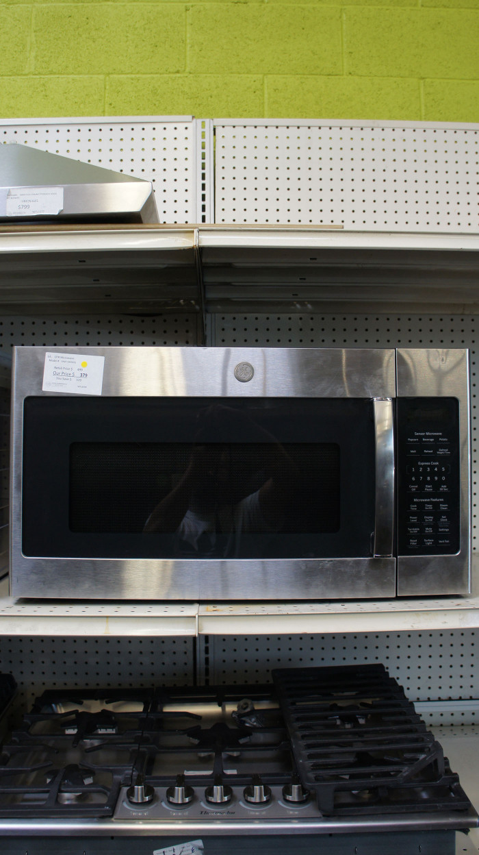 1.9 cu.ft. GE JVM7195SKSS Over-The-Range Microwave Oven