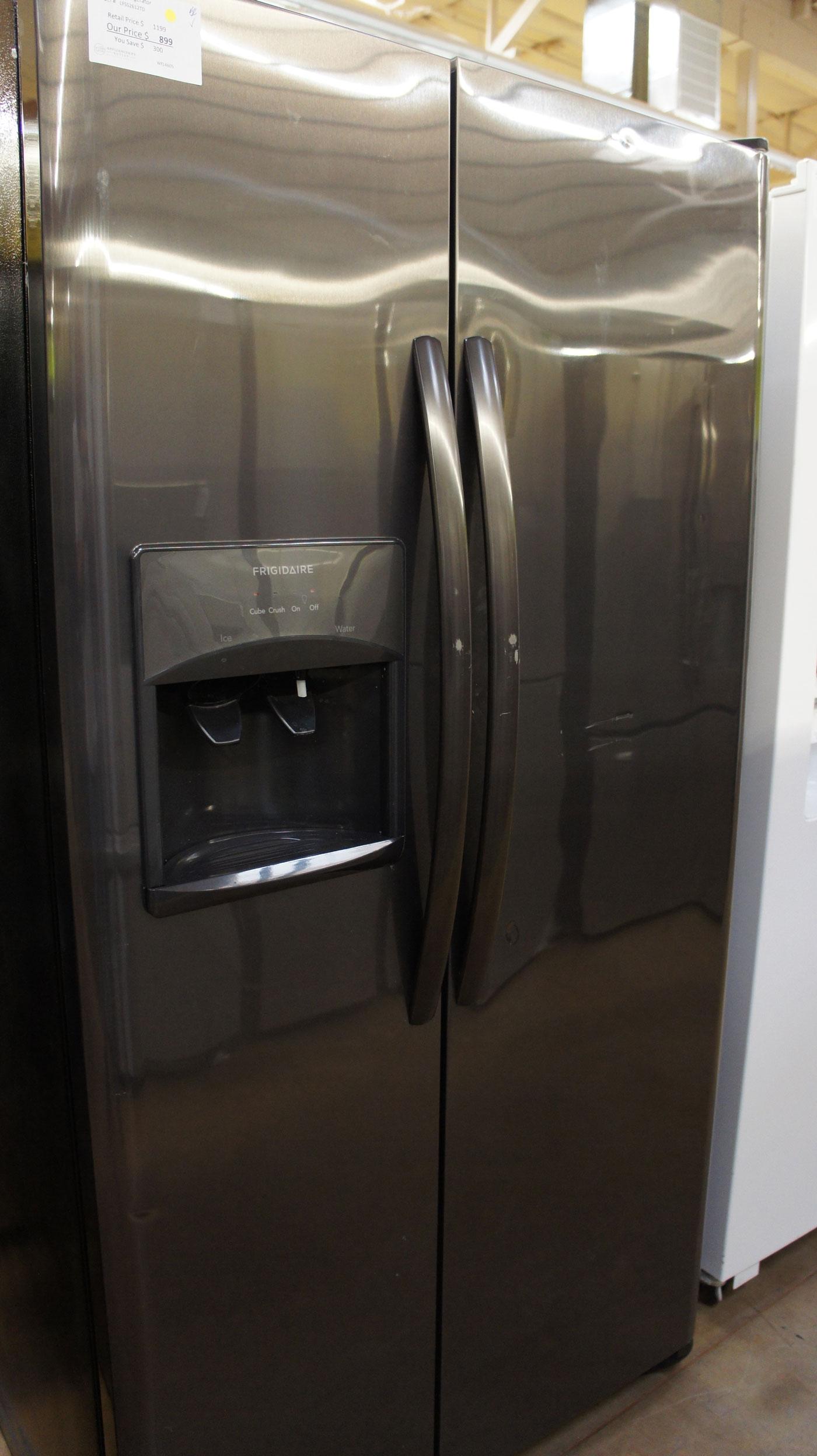 """36"""" Frigidaire LFSS2612TD 25.5 cu.ft. Side-By-Side Refrigerator"""