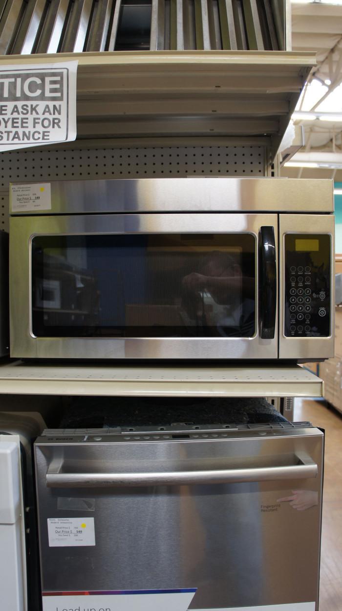 UMV1160CS Stainless Steel Over-the-Range Microwave
