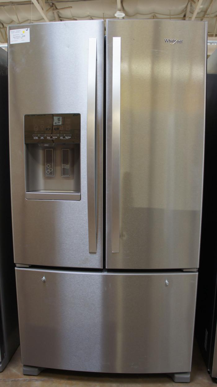 "36"" Whirlpool WRF555SDFZ 24.7cu.ft. French Door Refrigerator"