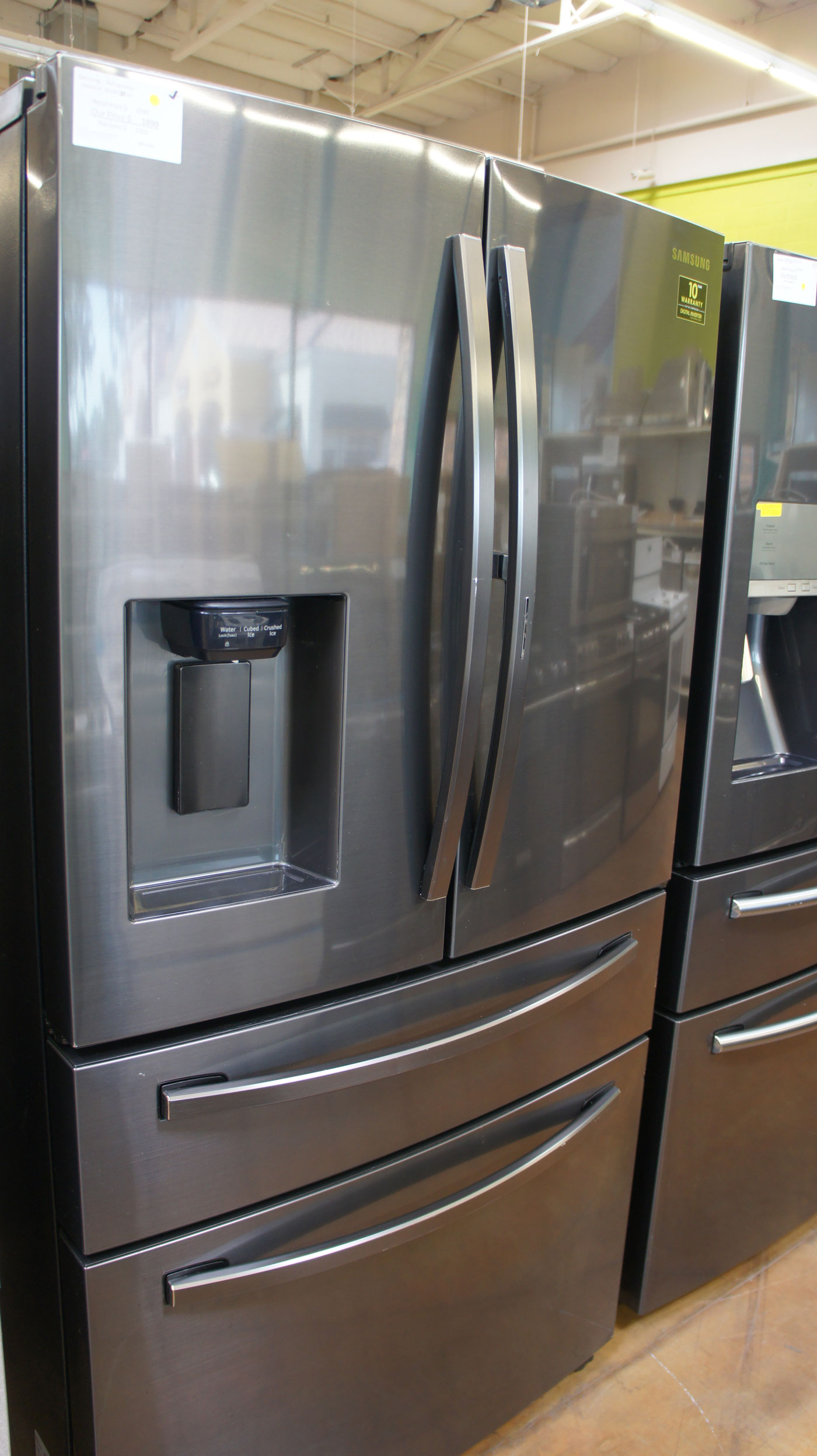 "36"" Samsung RF28R7351SR French Door 27.8 cu.ft. Refrigerator"