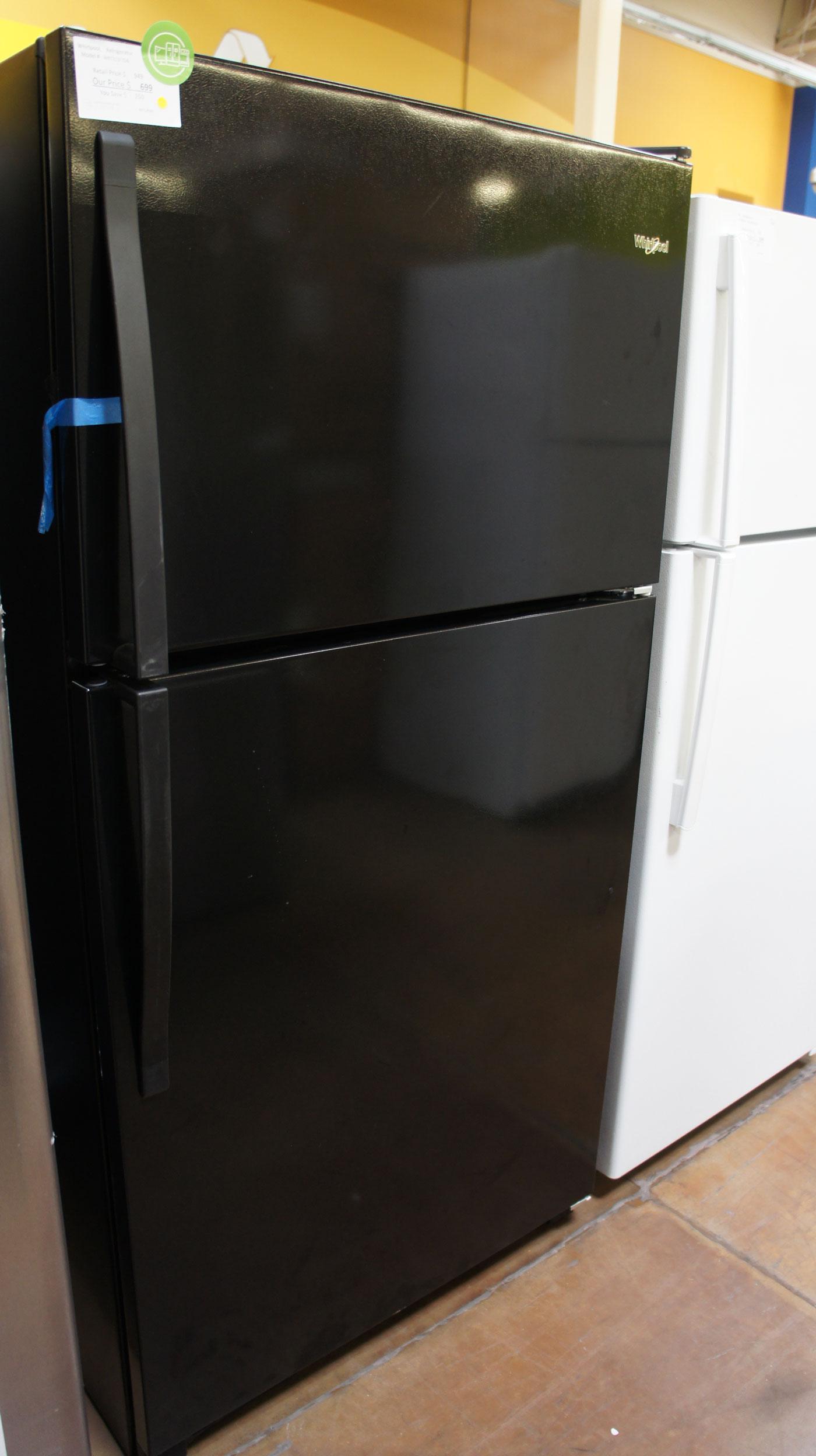 "33"" Whirlpool WRT311FZDB 20.5 cu.ft. Top-Freezer Refrigerator"