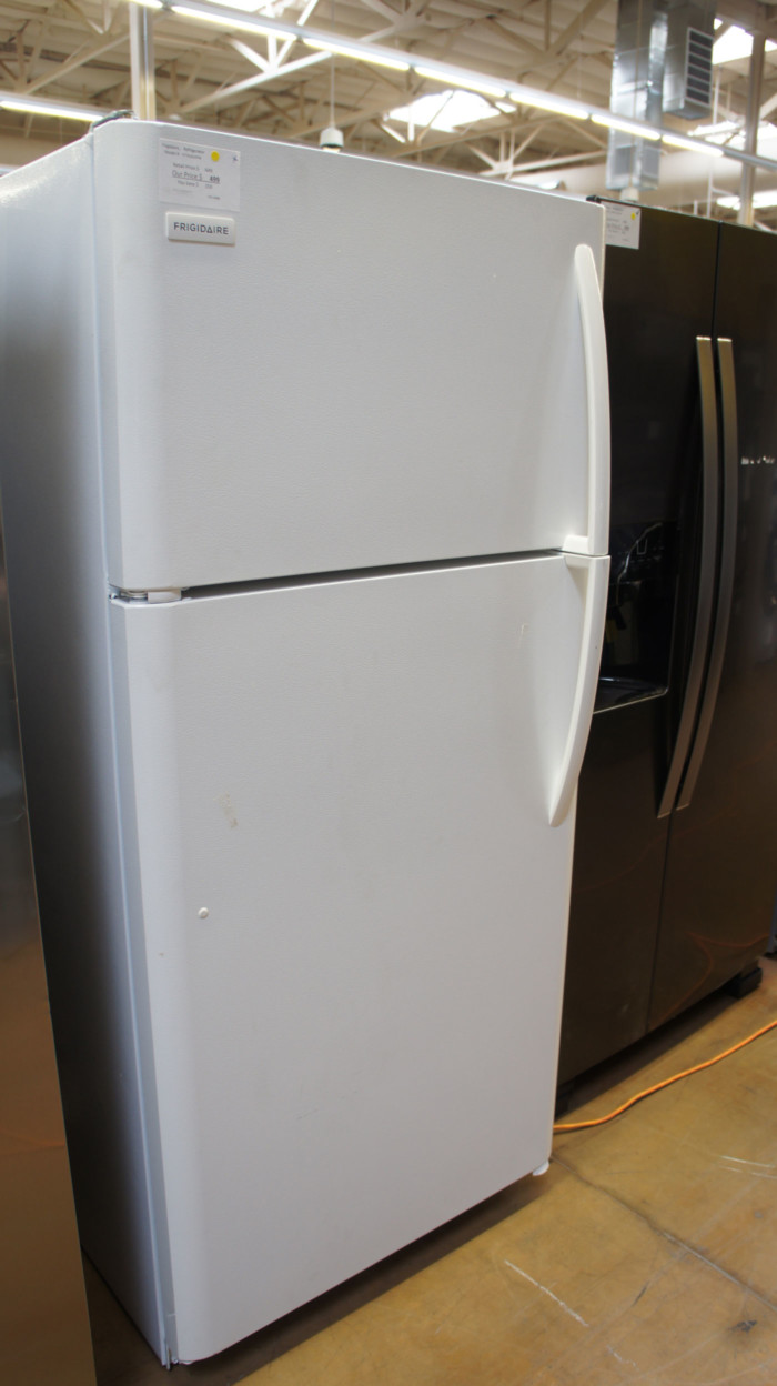 "30"" Frigidaire FFTR1814TW Top Freezer 18 cu.ft. Refrigerator"