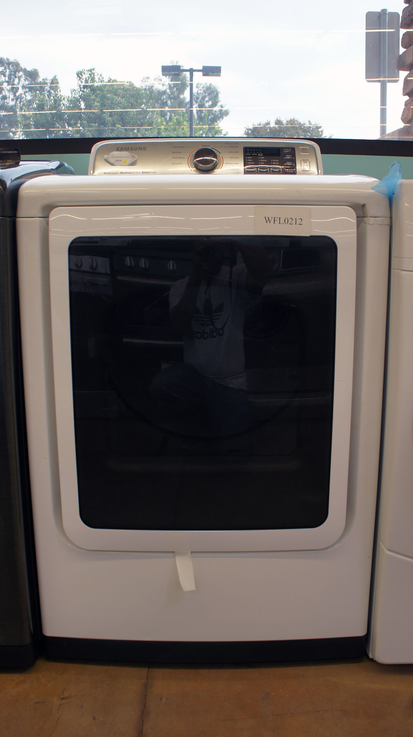 "27"" Samsung DVE50M7450W 7.4 cu.ft. Capacity Electric Dryer"