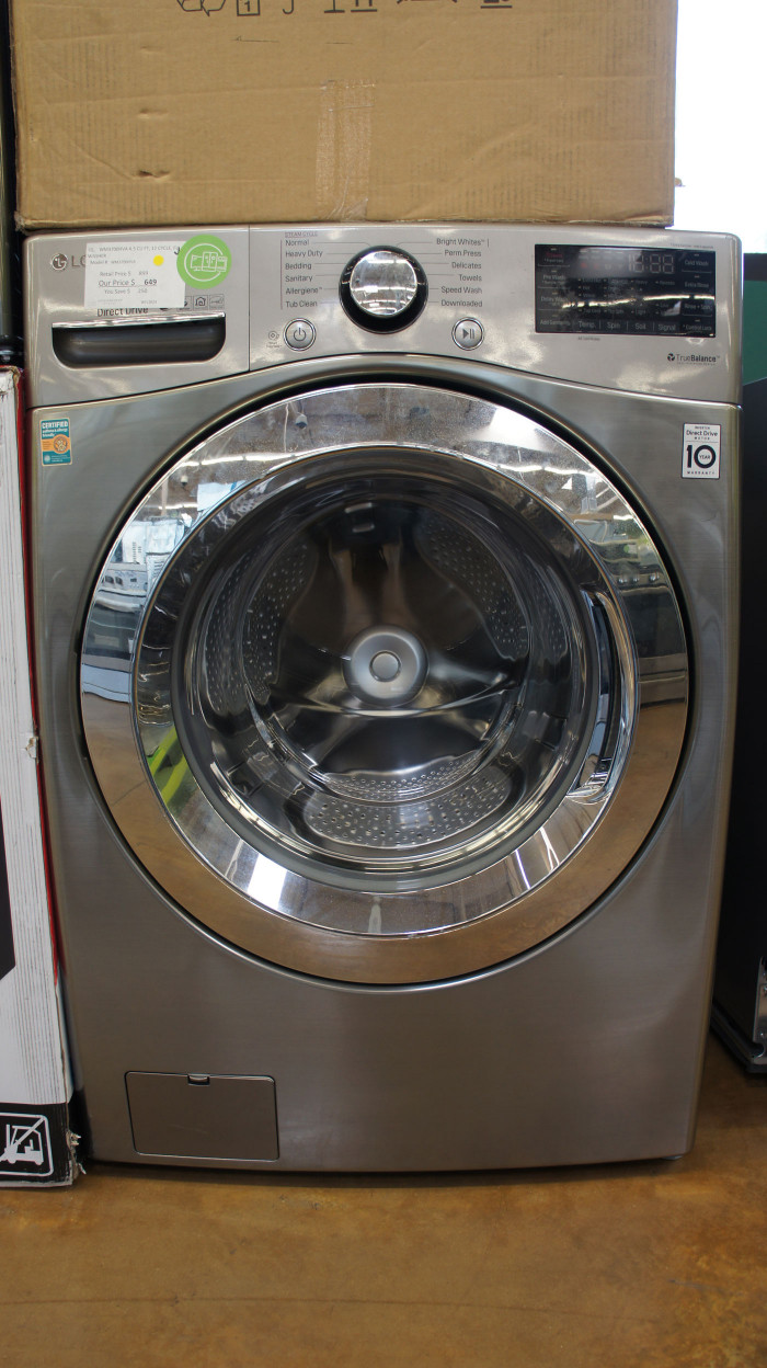 "27"" LG WM3700HVA 4.5 cu.ft. Capacity Front Load Smart Washer"