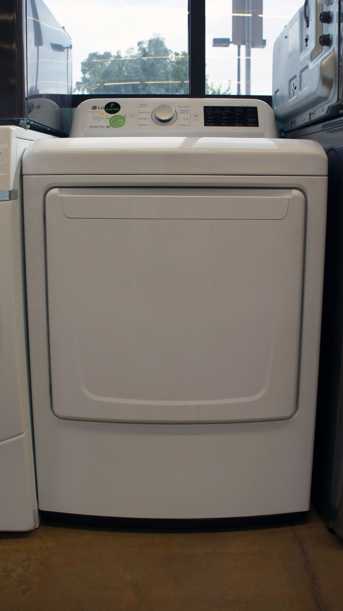 "27"" LG DLE7100W 7.3 cu.ft. Capacity Electric Dryer"