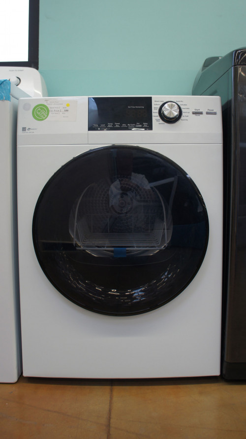 "24"" GE GFD14ESSNWW 4.3 cu.ft. Capacity Smart Electric Dryer"