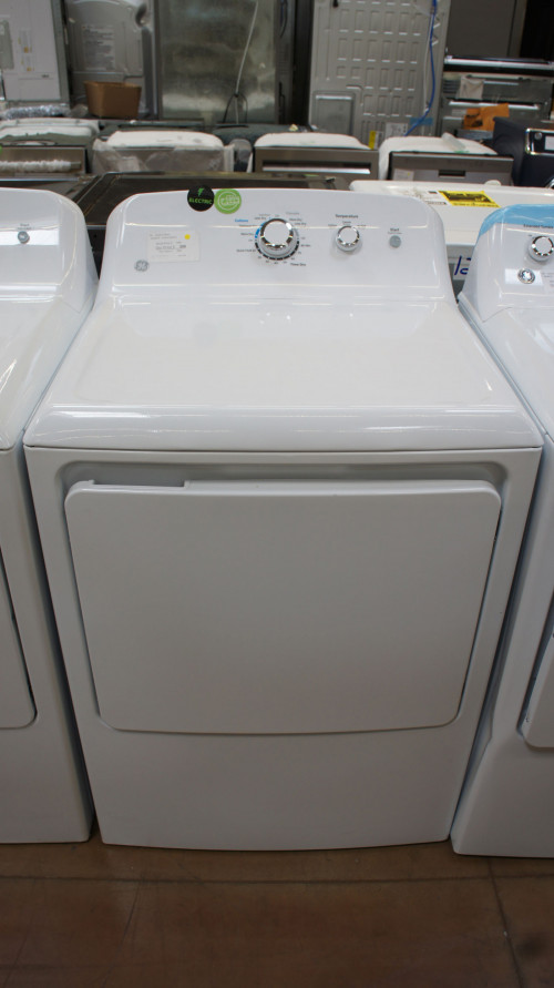 "27"" GE GTD33EASKWW 7.2 cu.ft. Capacity Electric Dryer"