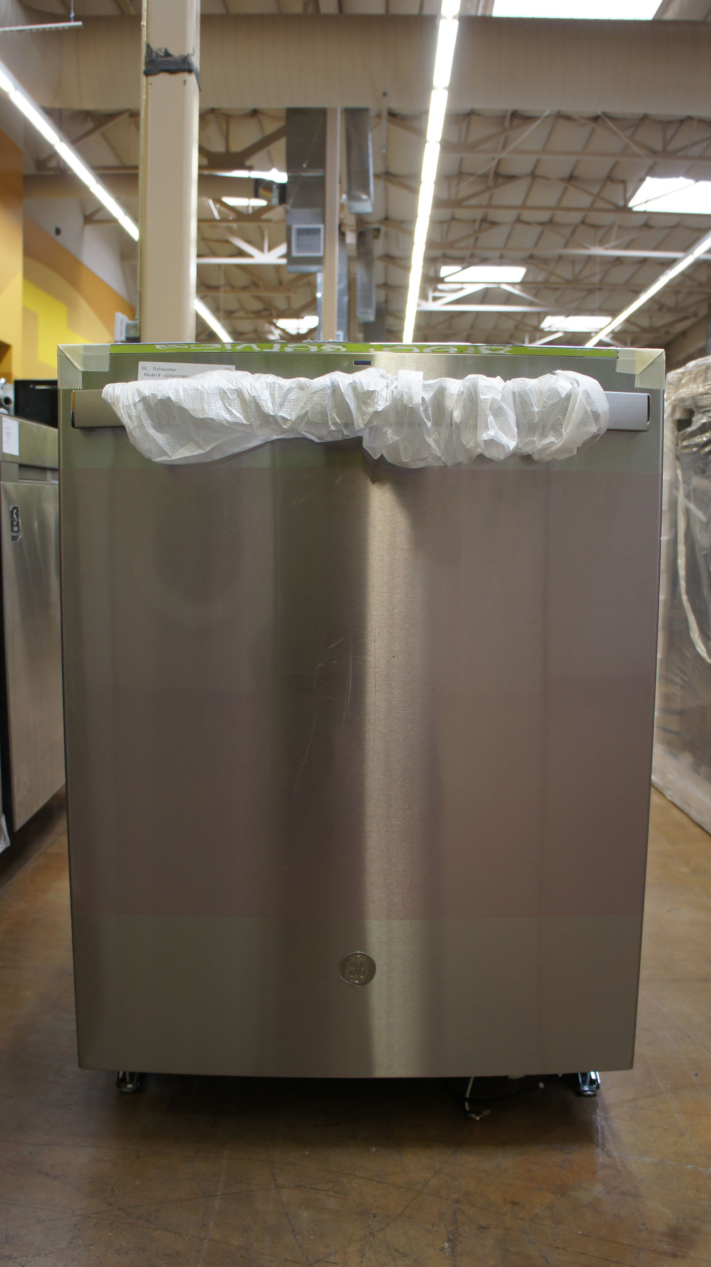 """24"""" GE GDT645SYNFS Built-In Tall Tub Fully Integrated Dishwasher"""