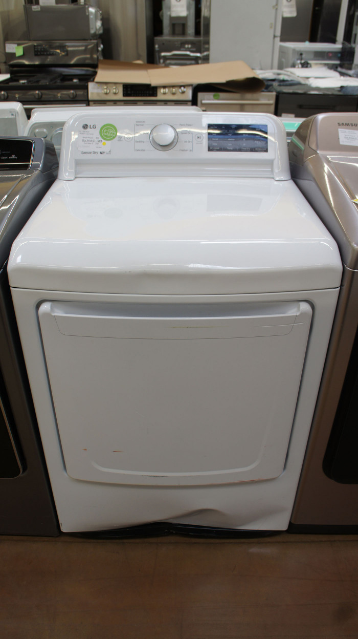 "27"" LG DLG7101W 7.3 cu.ft. Capacity Gas Dryer"