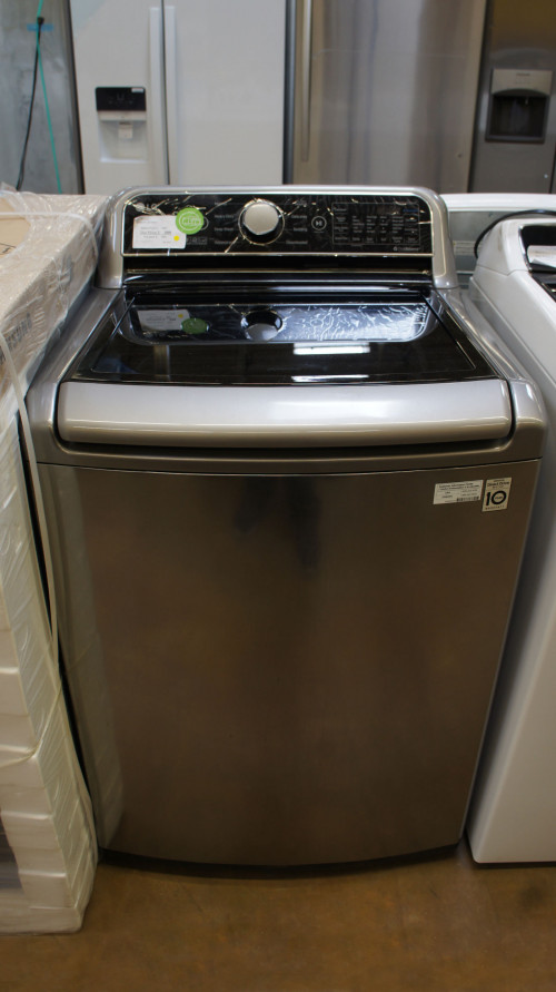 "27"" LG WT7300CV 5.0 cu.ft. Top Load Smart Washer"