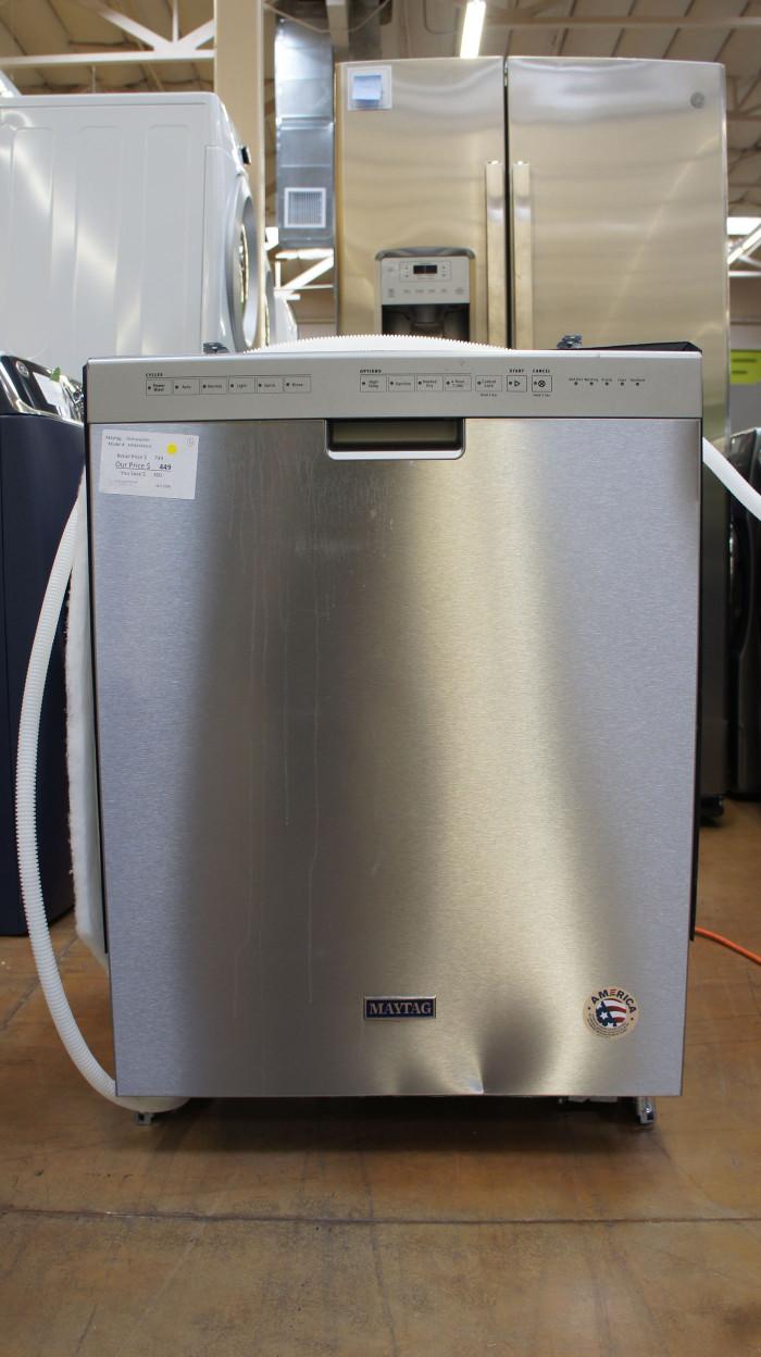 "24"" Maytag MDB4949SHZ Built-In Fully Integrated Dishwasher"