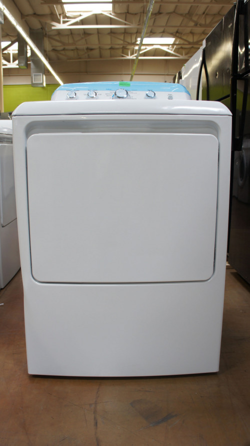 "27"" GE GTX42EASJWW 6.1cu.ft. Capacity Electric Dryer"