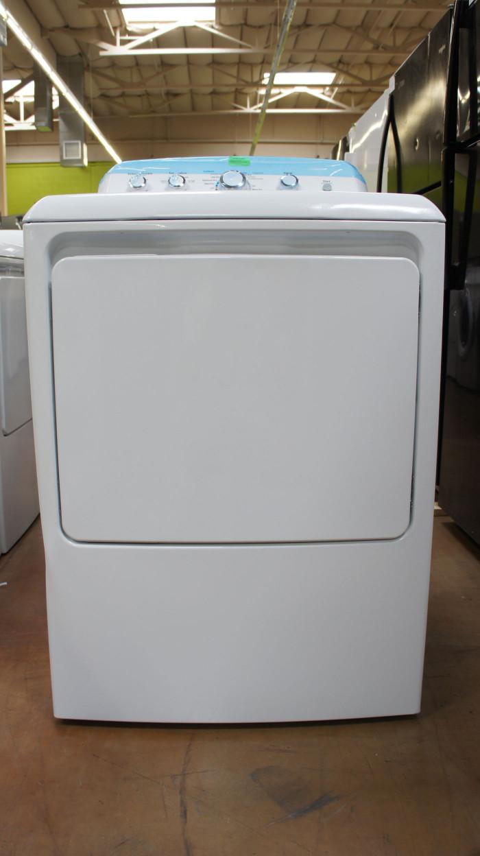 "27"" GE GTX42EASJWW 6.1cu.ft. Capacity Electric Dryer"