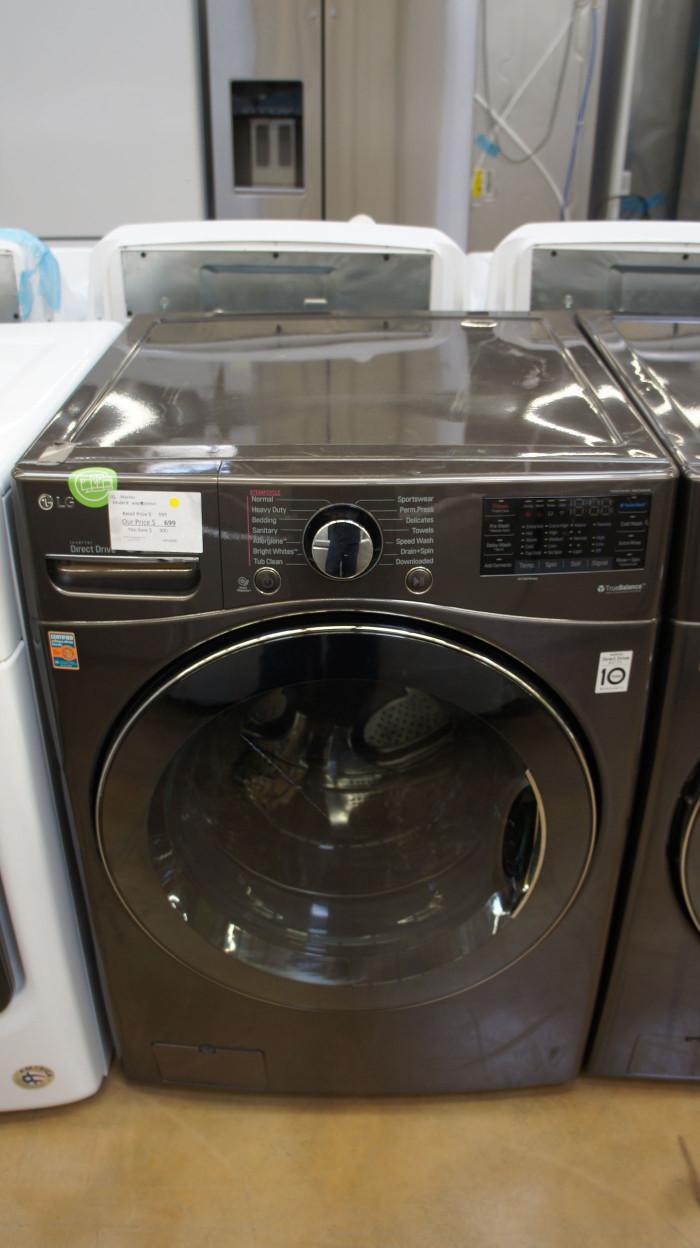 "27"" LG WM3900HWA 4.5 cu.ft. Capacity Smart Washer"