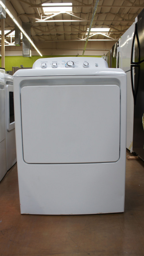 "27"" GE GTD42EASJWW 7.2 cu.ft. Capacity Electric Dryer"