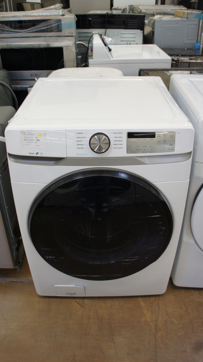 "27"" Samsung WF45R6300AV 4.5 cu.ft. Front Load Washer"