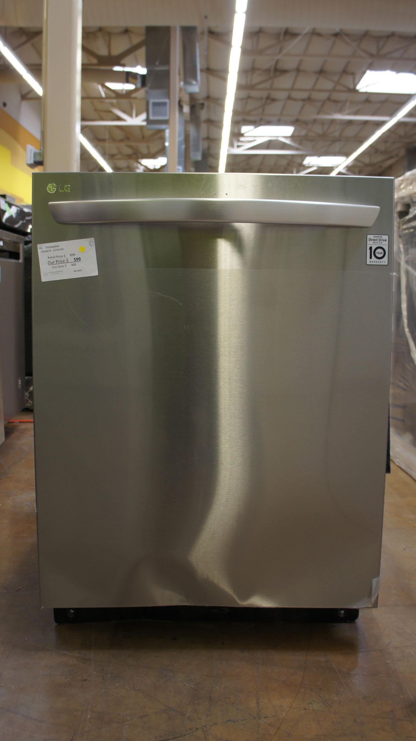 "24"" LG LDT5678SS Fully Integrated QuadWash Dishwasher"