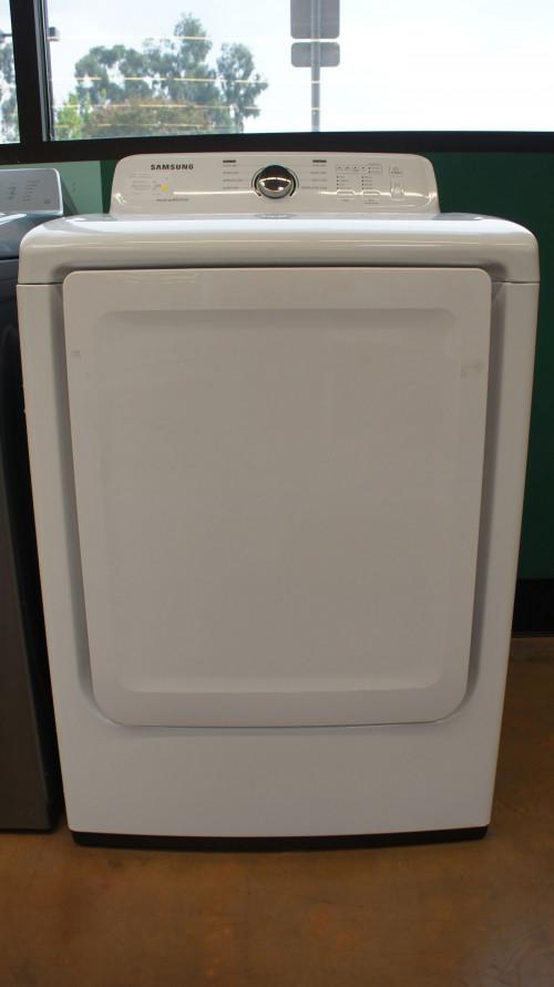 """27"""" Samsung DV40J3000GW 7.2 cu.ft. Capacity Gas Dryer"""