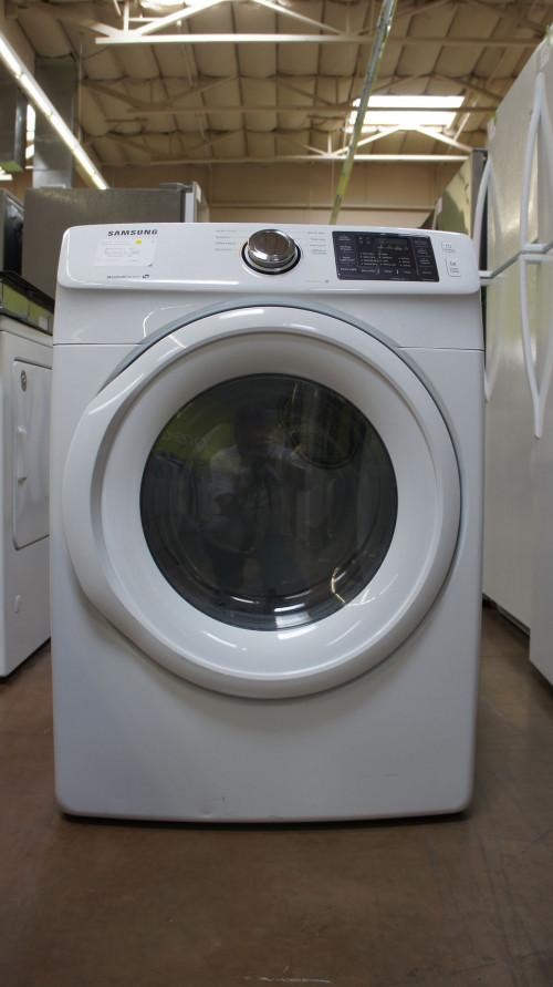 """27"""" Samsung DV42H5000GW 7.5 cu.ft. Capacity Gas Dryer"""