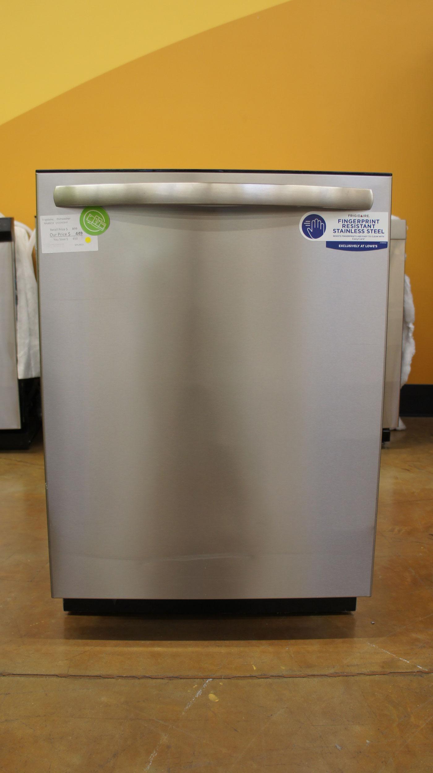 """24"""" Frigidaire LFID2459VF 49-db Top Control Built-In Dishwasher"""