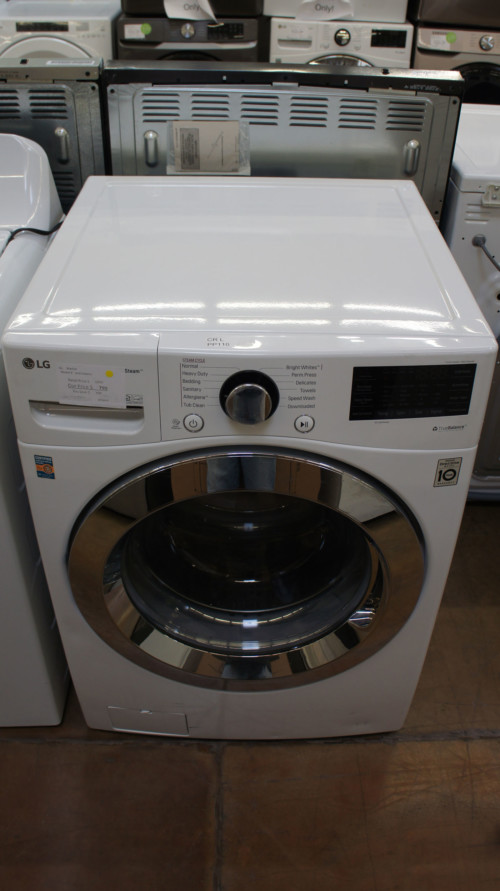 "27"" LG WM3700HVA 4.5 cu.ft. Capacity Front Load Smart Washer"