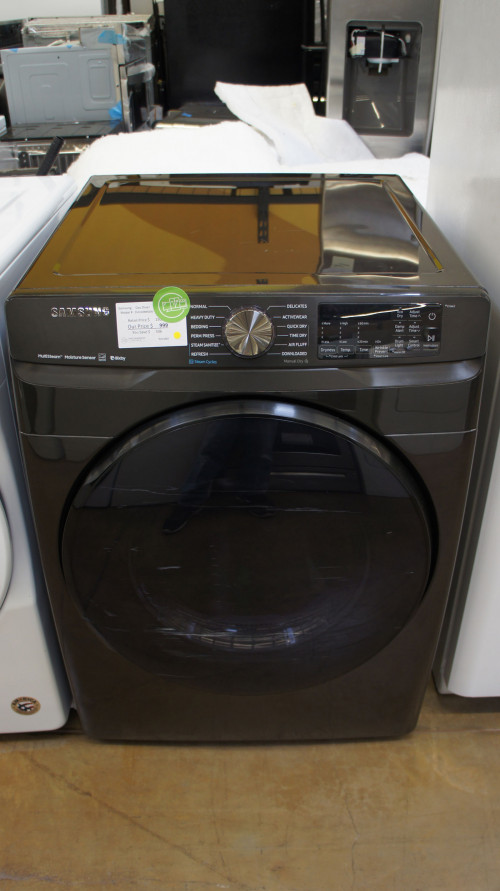 "27"" Samsung DVG50R8500V 7.5 cu.ft. Smart Gas Dryer"