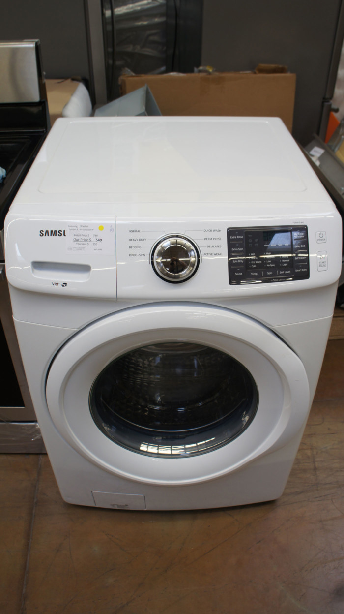 """27"""" Samsung WF42H5000AW 4.2 cu.ft. Front Load Washer"""