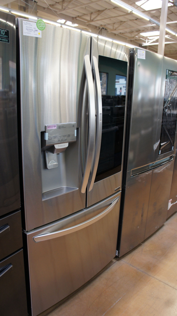 "36"" LG LFXS26596S Smart French Door 26 cu.ft. Refrigerator WFL5133"