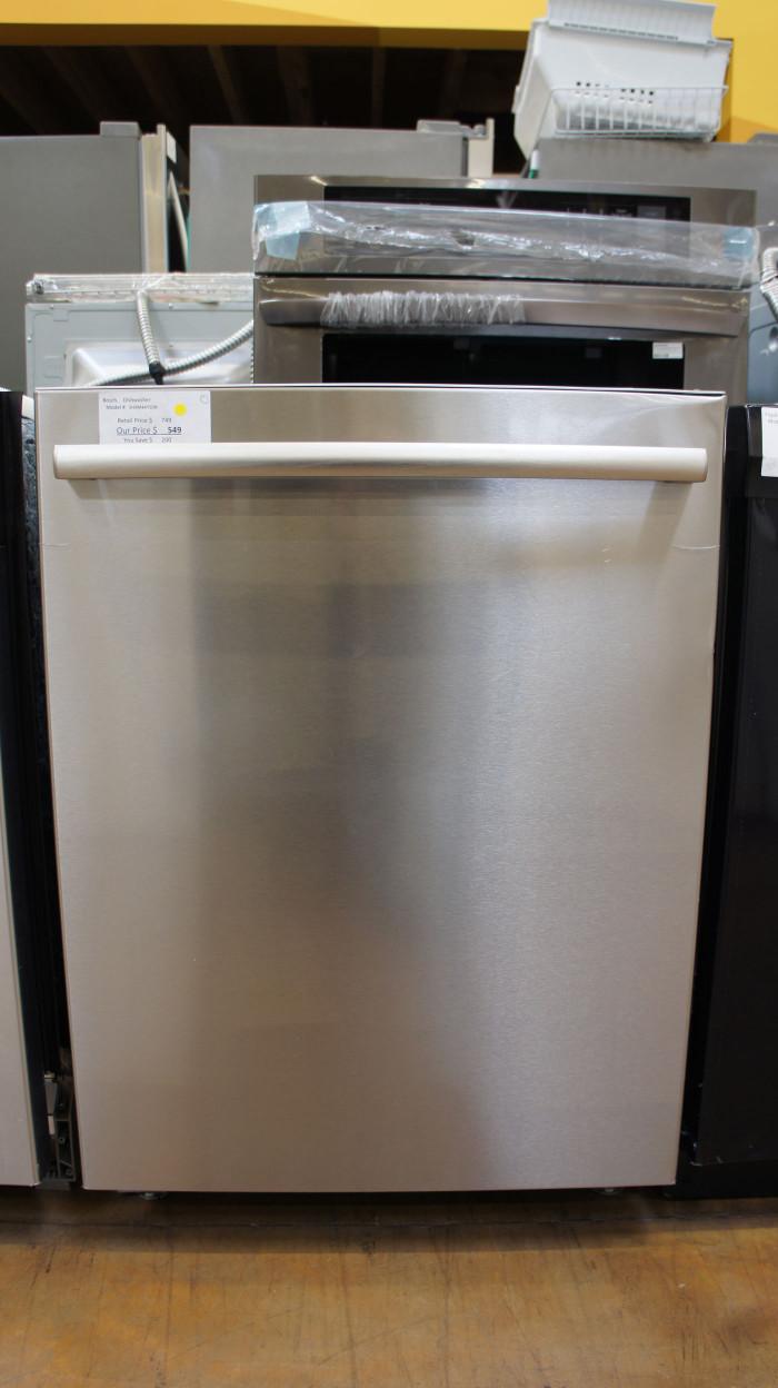 """24"""" Bosch SHXM4AY55N Integrated Dishwasher"""