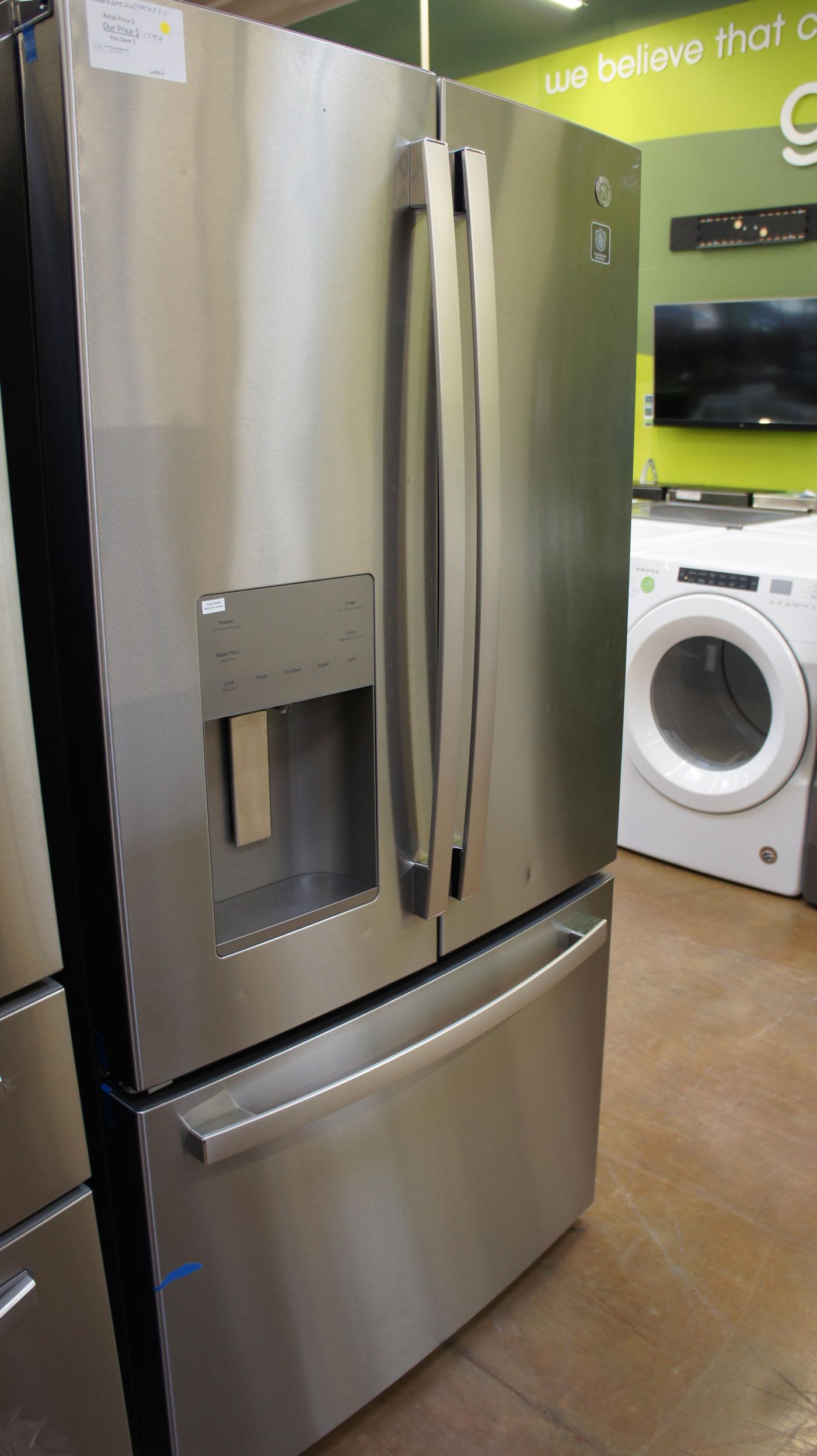 "36"" GE GFE26JYMFS French Door Refrigerator"